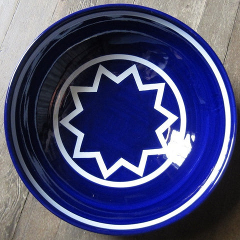 Sol LeWitt Large Blue Bowl
