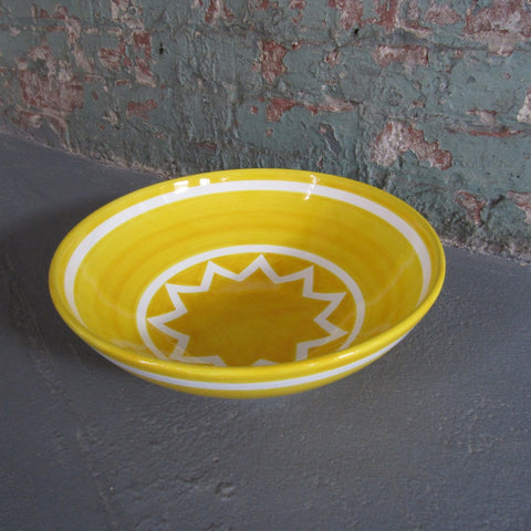Sol LeWitt Large Yellow Bowl