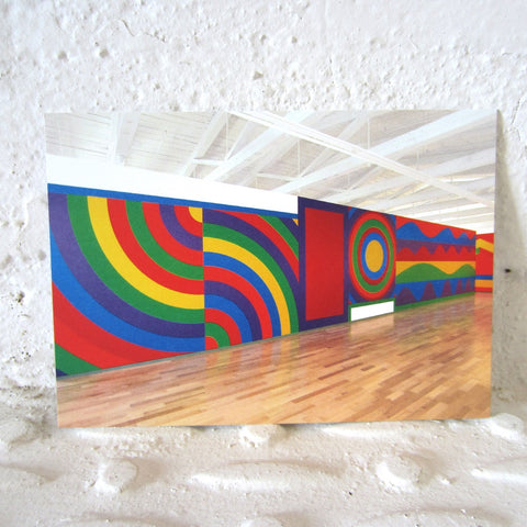 Postcard: Sol LeWitt Wall Drawing 915