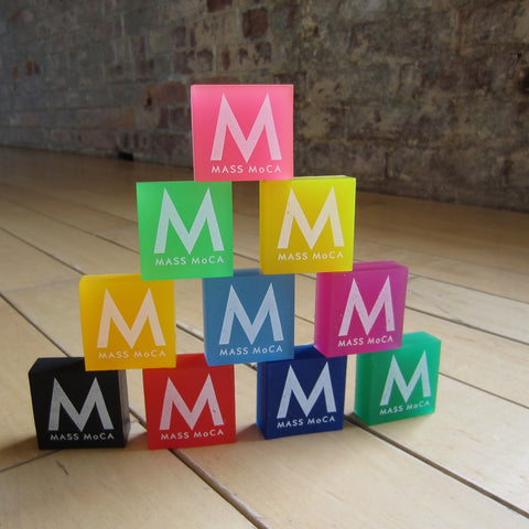 MASS MoCA Frosted Erasers
