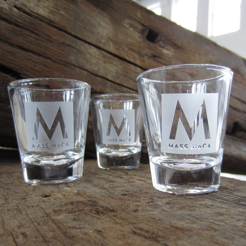 MASS MoCA Shot Glass
