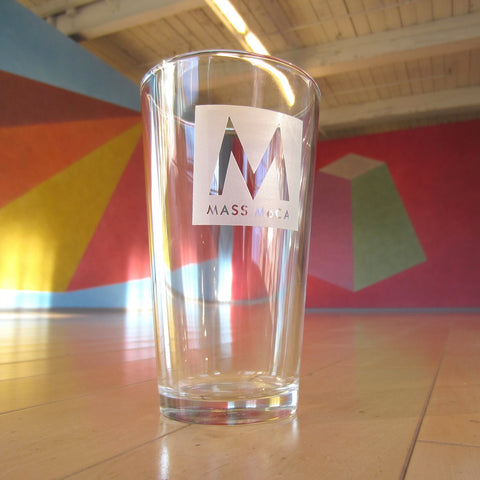 MASS MoCA Pint Glass