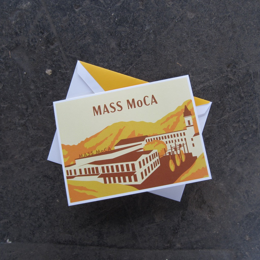 MASS MoCA Greeting Card: Orange Museum