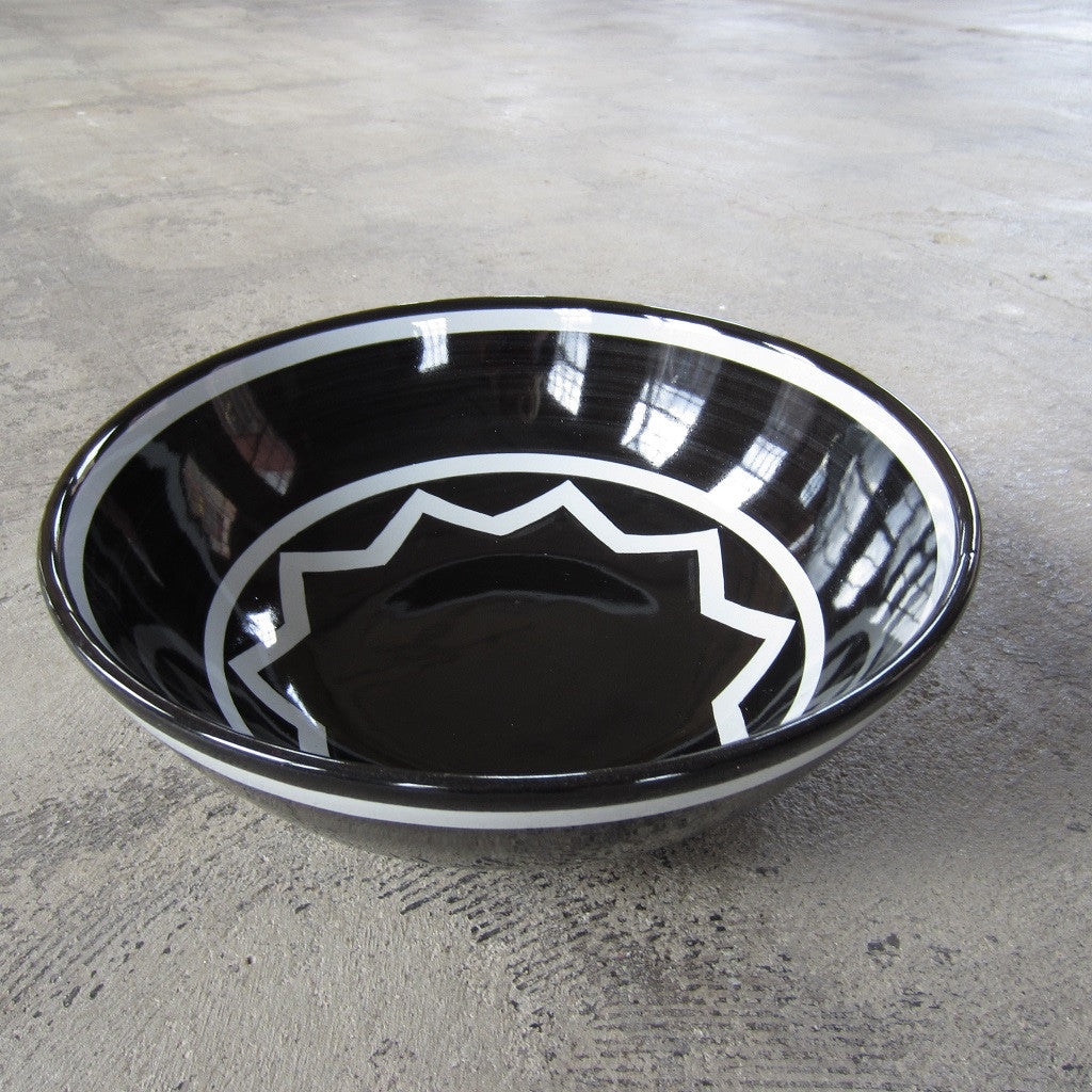 Sol LeWitt Medium Black Bowl