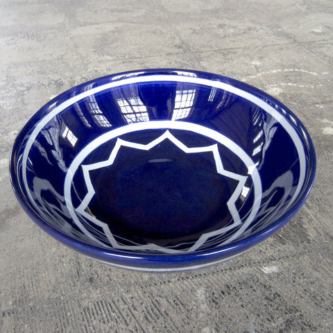 Sol LeWitt Medium Blue Bowl
