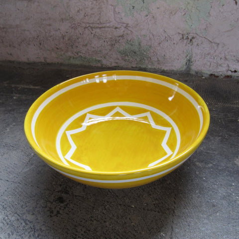 Sol LeWitt Medium Yellow Bowl