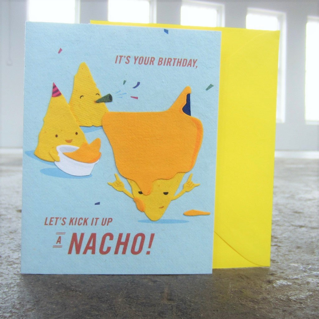 Greeting Card: Nacho Birthday