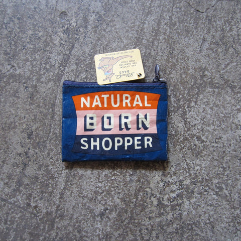 Coin Purse: Natural Born Shopper