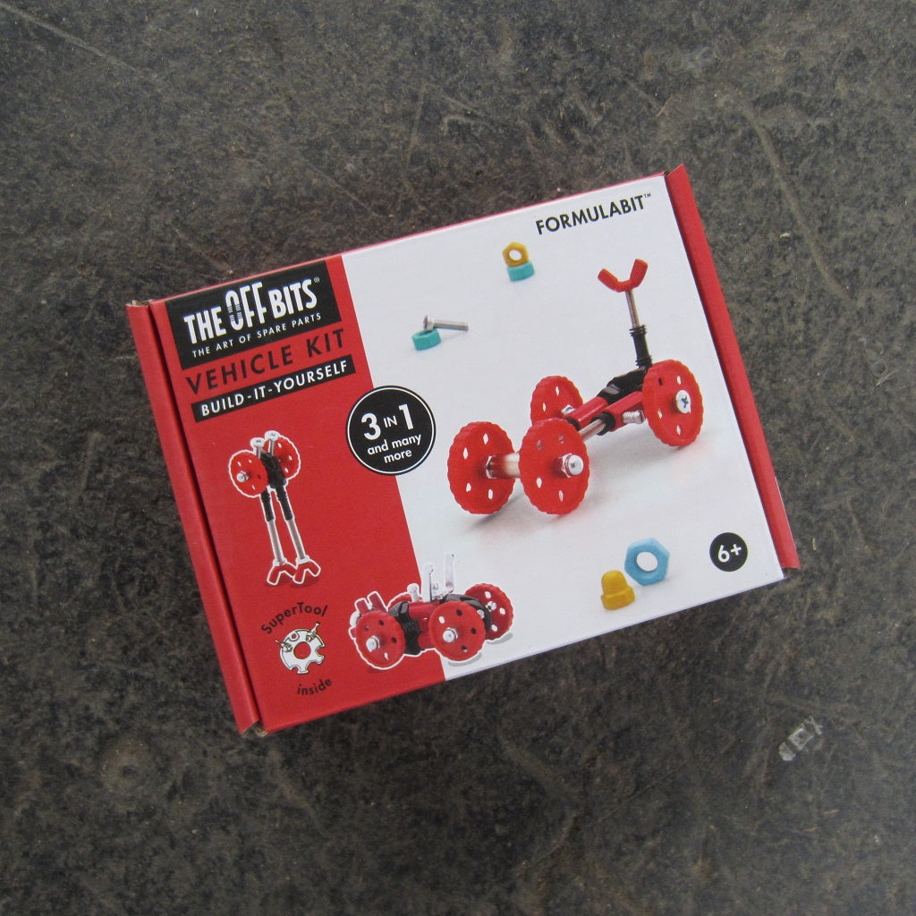 OffBits Construction Kit: Red Formulabit