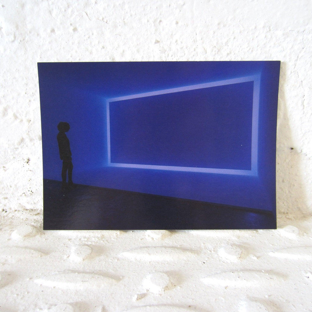 Postcard: James Turrell - Once Around, Violet