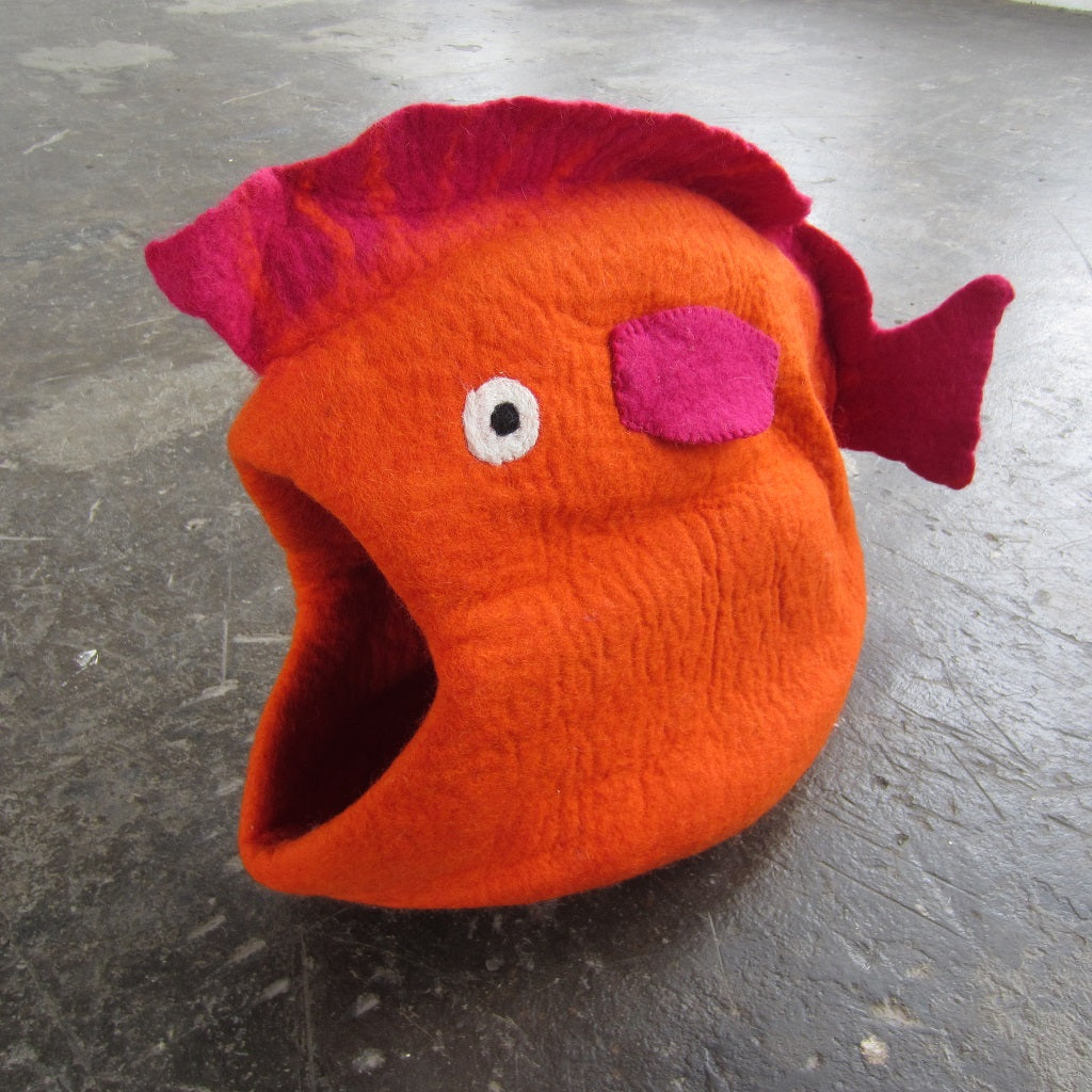 Cat Pod: Orange Fish