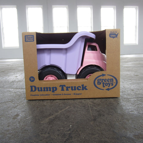 Recycled Plastic Dump Truck: Pink