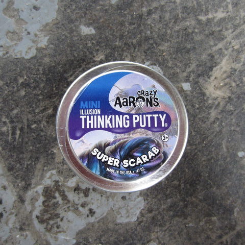 Mini Thinking Putty: Illusion