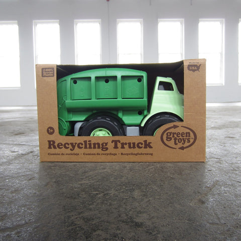 Recycled Plastic Recycling Truck