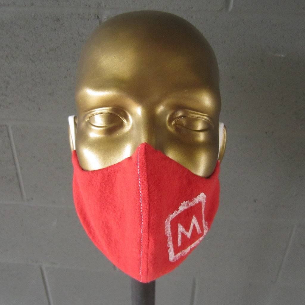 MASS MoCA Face Mask: Red