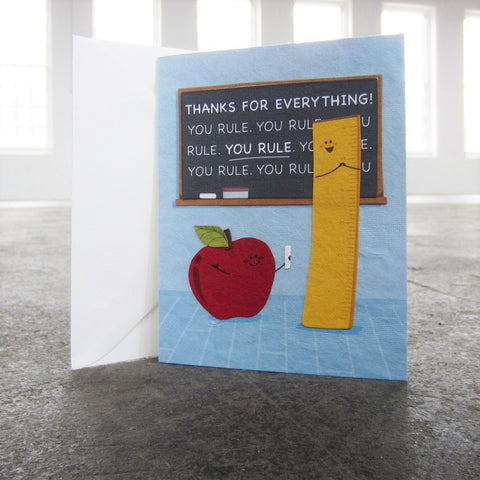 Greeting Card: You Rule Thanks