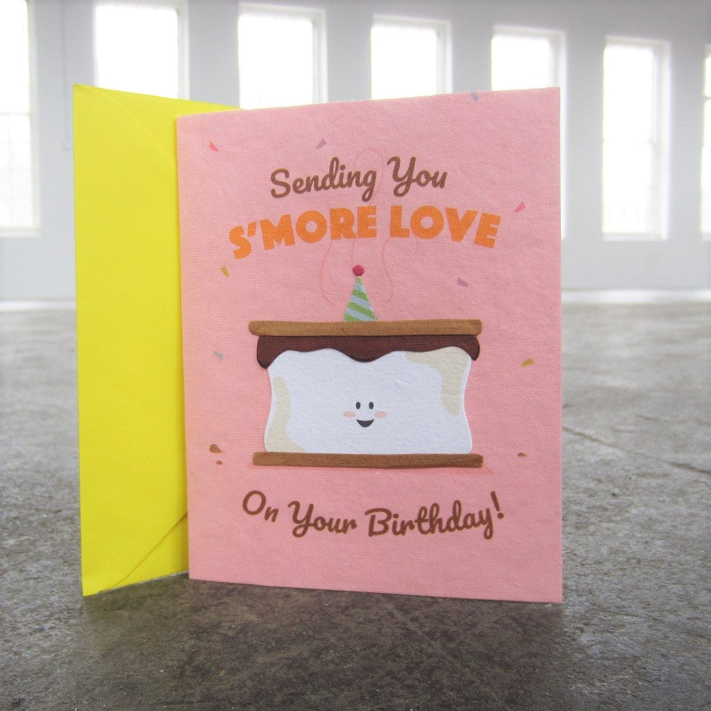 Greeting Card: S'more Love Birthday