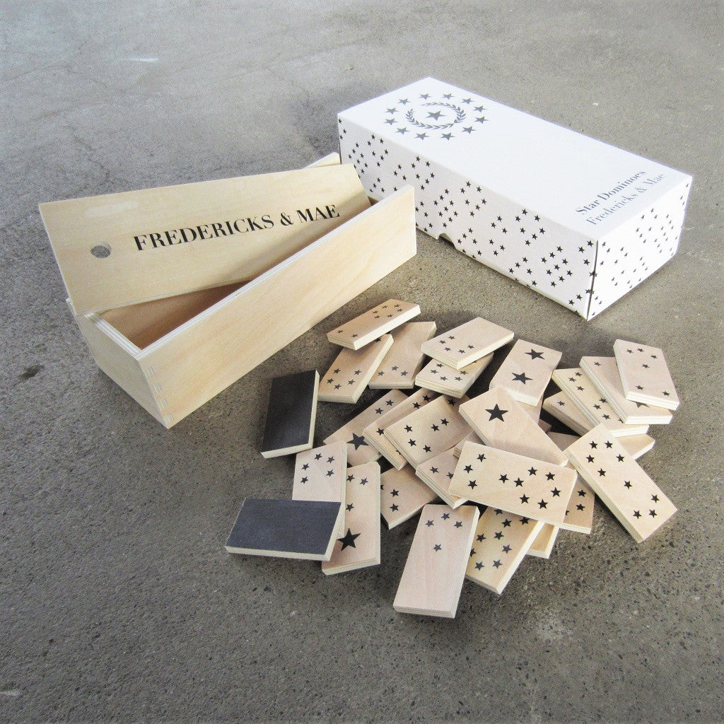 Wooden Dominoes: Stars