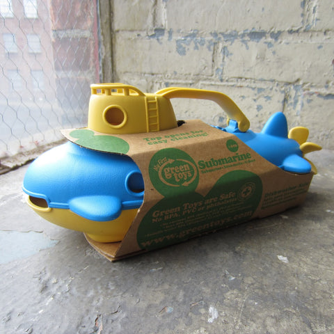 Recycled Plastic Submarine
