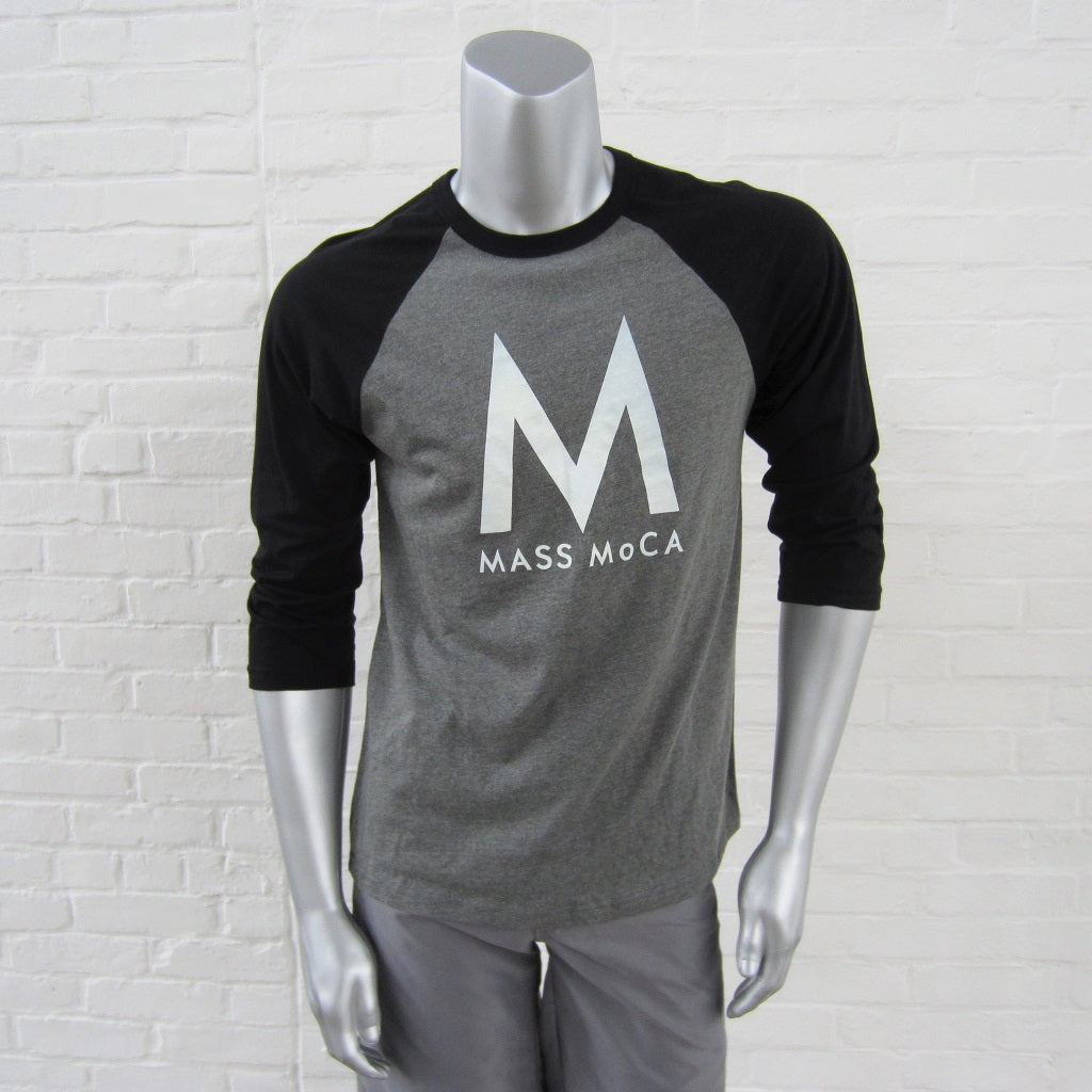 MASS MoCA Baseball T-Shirt: Unisex