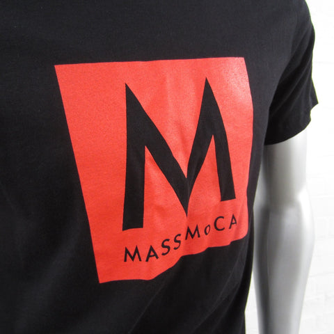 MASS MoCA Black T-Shirt: Unisex