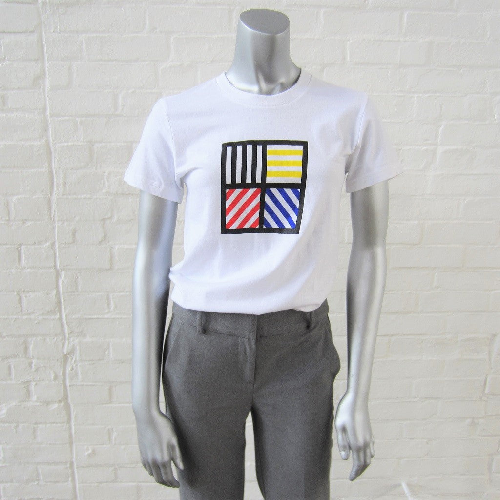 Sol LeWitt White T-Shirt: Fitted
