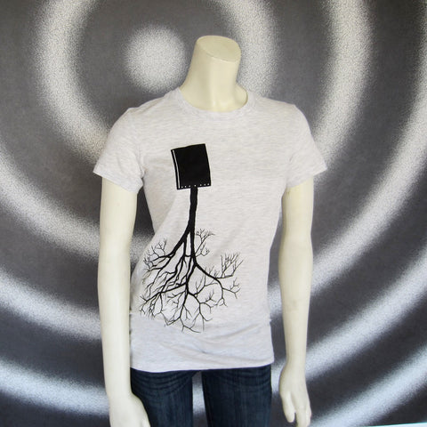 Upside Down Tree T-Shirt: Gals