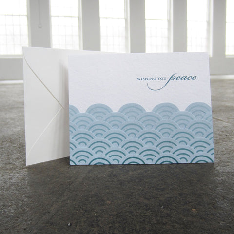Greeting Card: Peaceful Waves