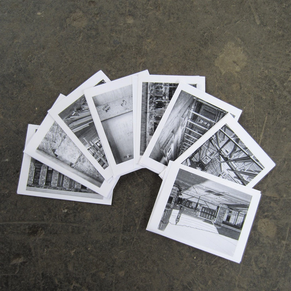 MASS MoCA Industrial Greeting Card Set