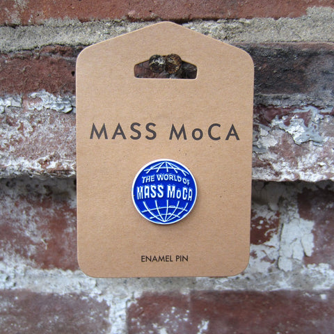 World of MASS MoCA Enamel Pin