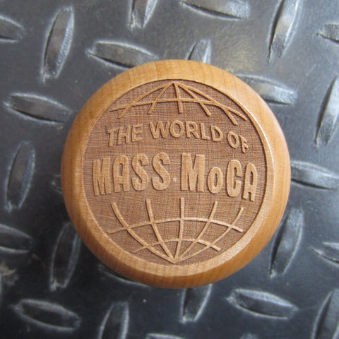 World of MASS MoCA Wooden Yoyo