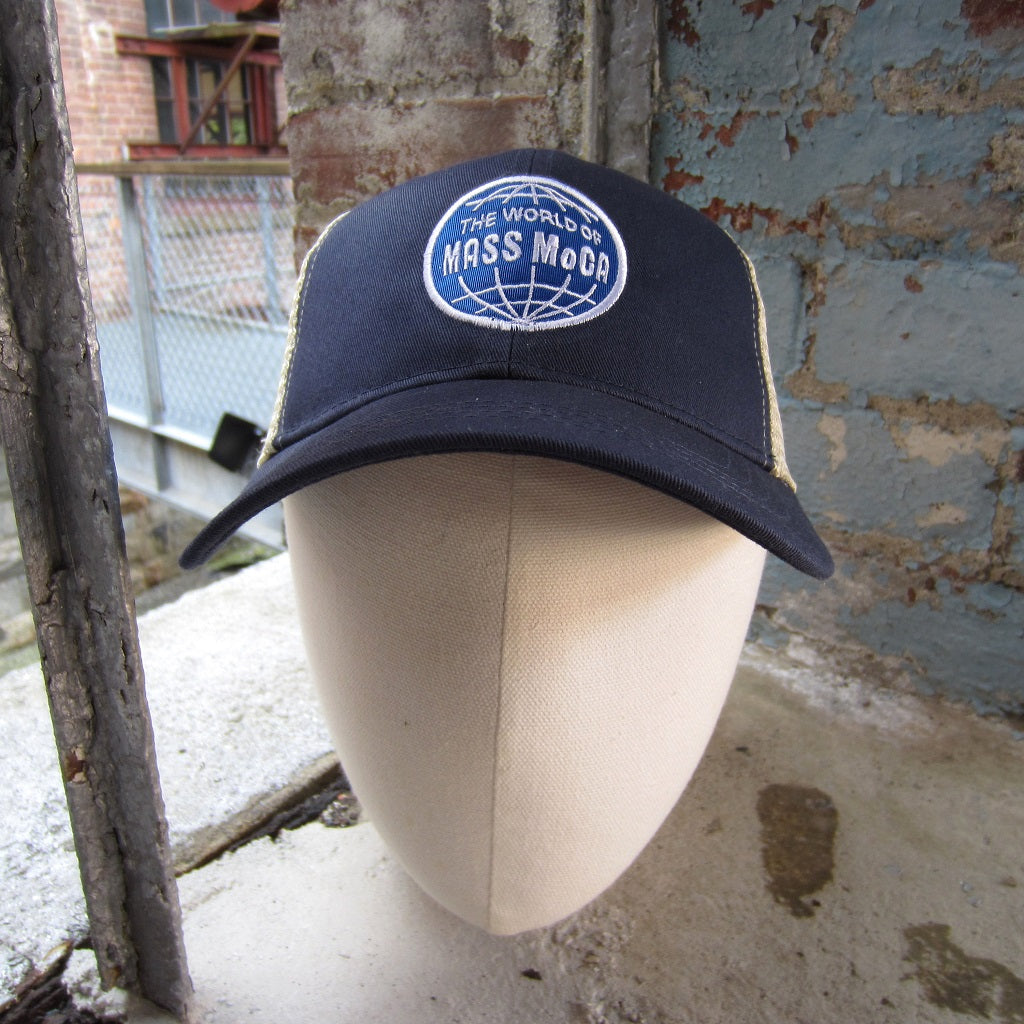 World of MASS MoCA Trucker Hat: Navy