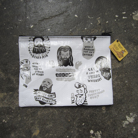 Zipper Pouch: Beards