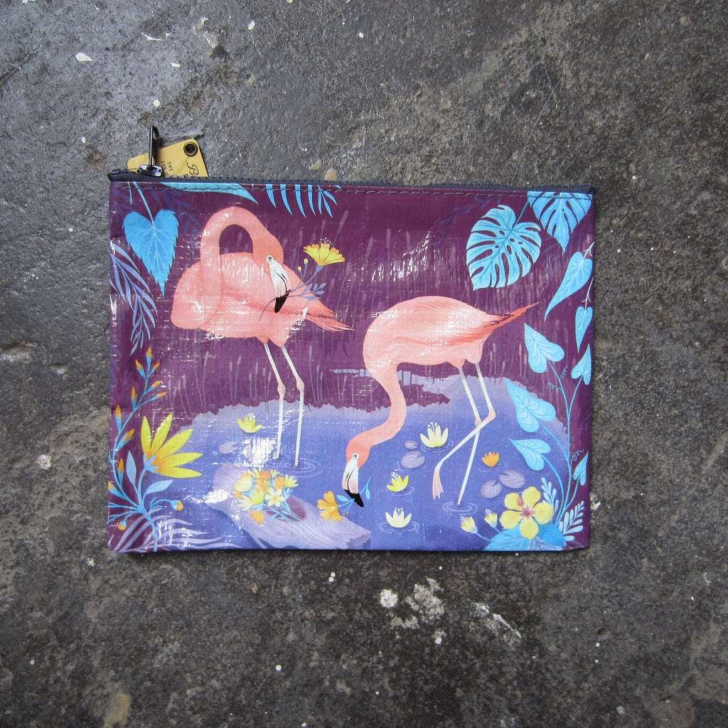 Zipper Pouch: Flamingo