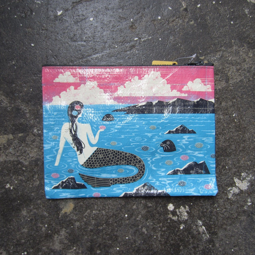 Zipper Pouch: Mermaid