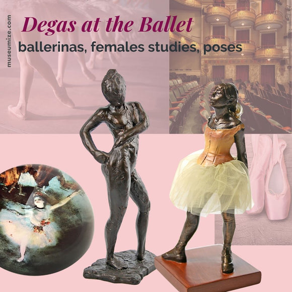 degas dancer replicas, little dancer statue replica, edgar degas sculptures