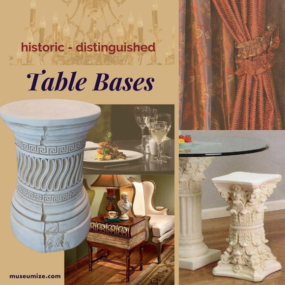 Historic Table Bases