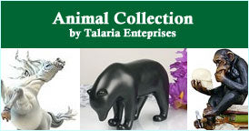 animal statuary collection