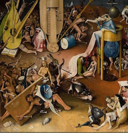 hieronymus bosch garden of earthly delights painting