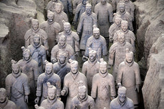 chinese terracotta warriors tomb horses china burial xian