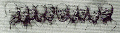messerschmidt drawing studies of facial expressions