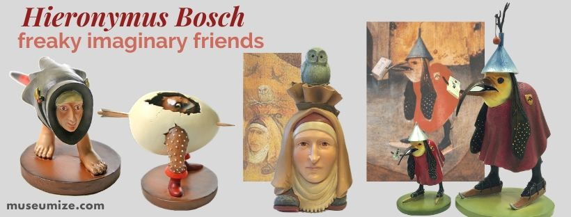 hieronymus bosch figurine statues garden of earthly delights Parastone Mouseion 3D
