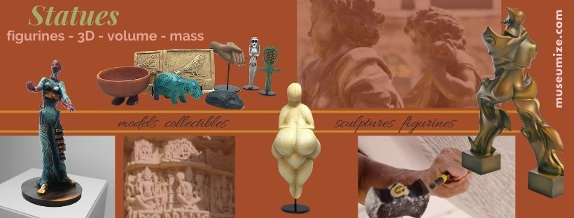 museum statues sculptures replicas collectibles figurines of famous art Parastone