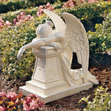 Angel of Grief Weeping Angel Remembrance Monument Garden Statue 24H