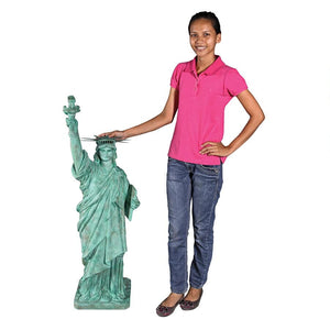 Statue Of Liberty Bringing Democracy Freedom America Garden Statue 45H