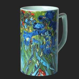 Mug Van Gogh Irises Ceramic 8oz