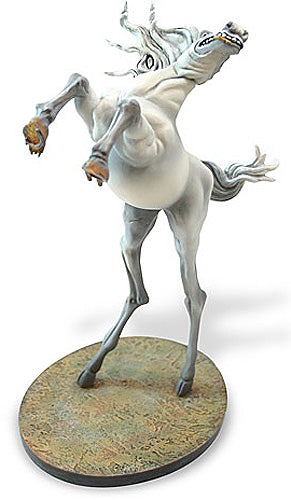 Rearing Horse Statue by Salvador Dali 8H