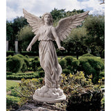 Angel of Patience Wings on Clouds Memorial Remembrance Spiritual Uplifting Garden Statue 37.5H