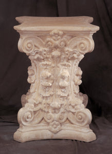 Museumize:Corinthian Column Classical Dining Table Base 29H