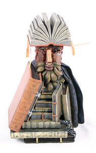 Librarian Man Made Out of Books Portrait of Wolfgang Lazius by Arcimboldo 6H